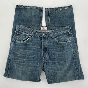 Levi's Original 501 Button Fly Straight Leg Jeans